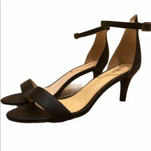 Black Low Formal Heels